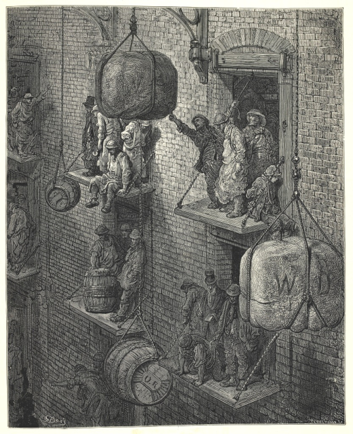 Gustave Doré 'Warehousing in the City'
