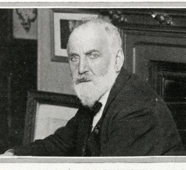 Photograph of W T Stead
