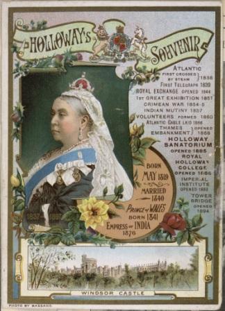 Diamond Jubilee souvenir