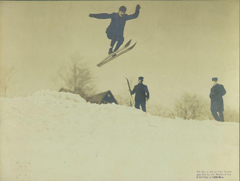 Ski Jump (Notman and Son)