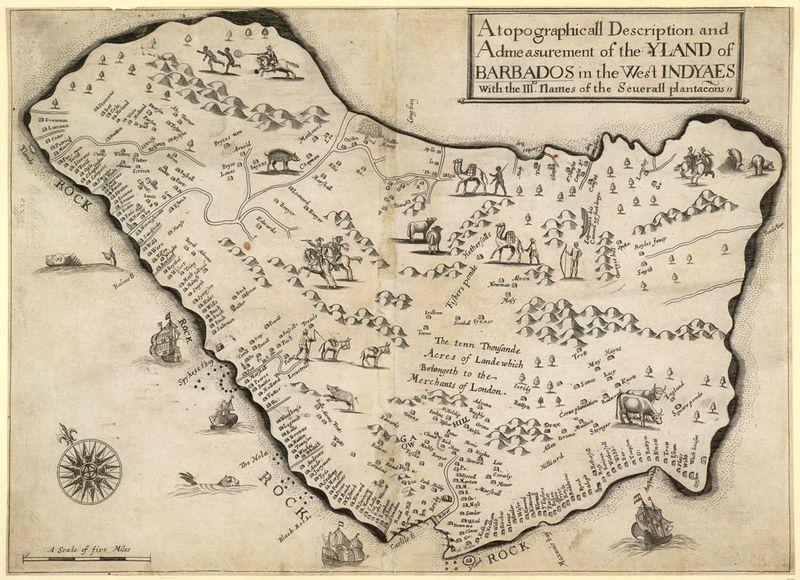 Barbados (Lingon Map)