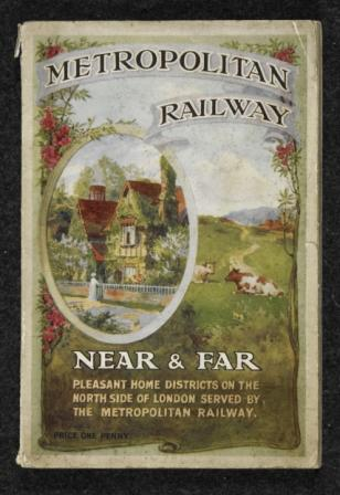 Cover of Near and far : pleasant home districts on the north side of London served by the Metropolitan Railway