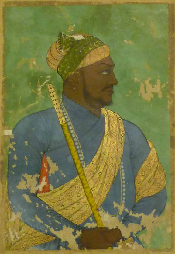 British Library, Ikhlas Khan, Bijapur, c. 1650, Johnson Album 26, no. 19