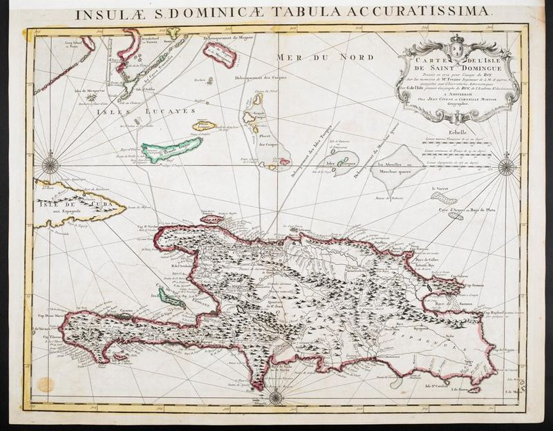 Carte de Saint Domingue