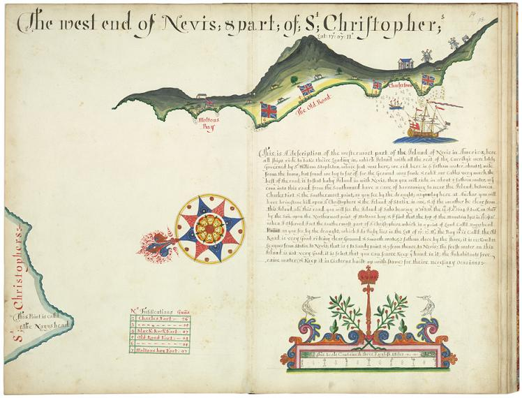 Nevis and St Christopher (Sloane 1684)