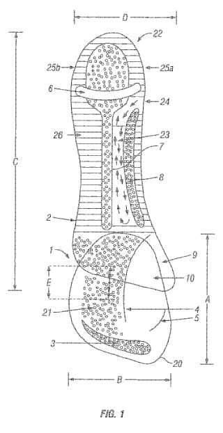 steve van dulken u0026 39 s patent blog  dragons u2019 den  an insole for high heels
