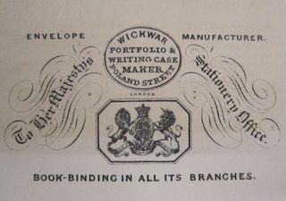 Advertising material for Wickwar