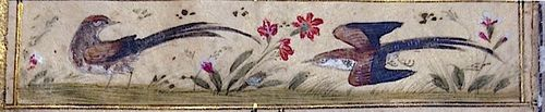 More bird decorations (Or.7573, f.278r)
