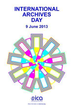 Artwork for International Archives Day 2013