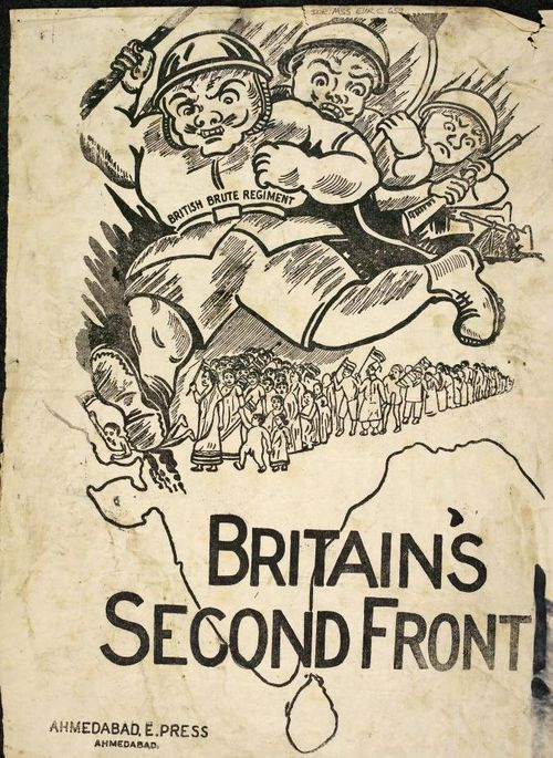 British poster, c.1942, entitled 'Britain's Second Front'.