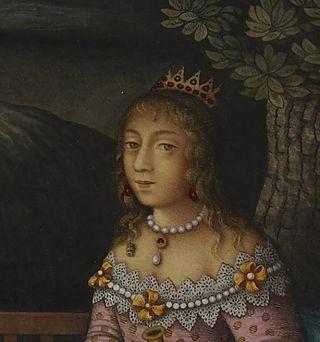 Detail: Turktaz Queen of the Faeries