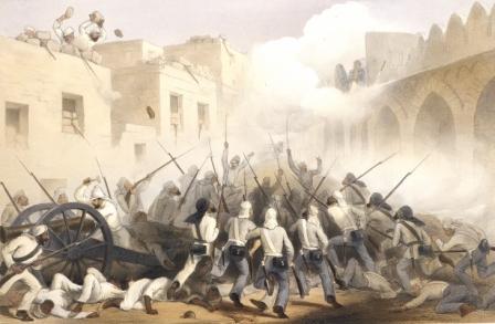 The storming of Delhi