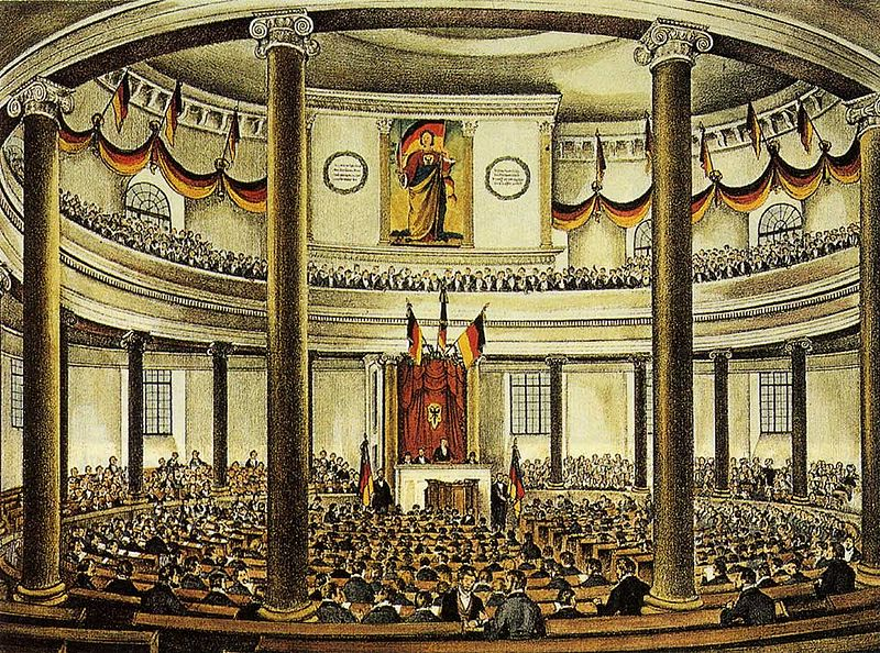 the frankfurt parliament and the role of king frederick william iv of prussia Frederick william iv prussia and the king could no longer resist political and economic declined the title of emperor from the frankfurt parliament.