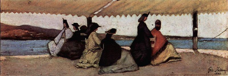 Giovanni Fattori, La Rotonda dei Bagni Palmieri