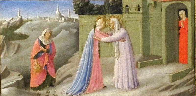 Visitation, Fra Angelico