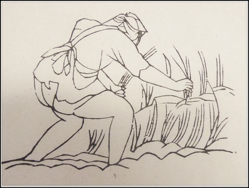 Peasant at work. From Henri Oger's Introduction Générale (Or.T.C.4)