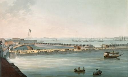 Bombay harbour