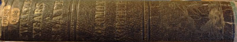 12 Years a Slave book spine