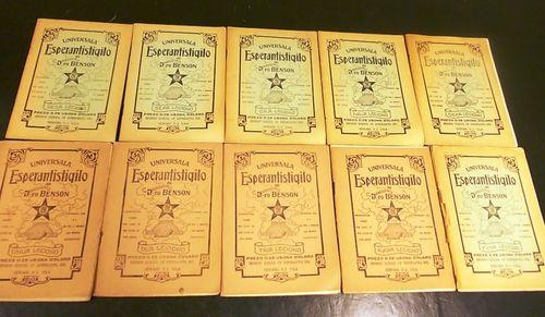 Copies of 'Universala Esperantistigilo'