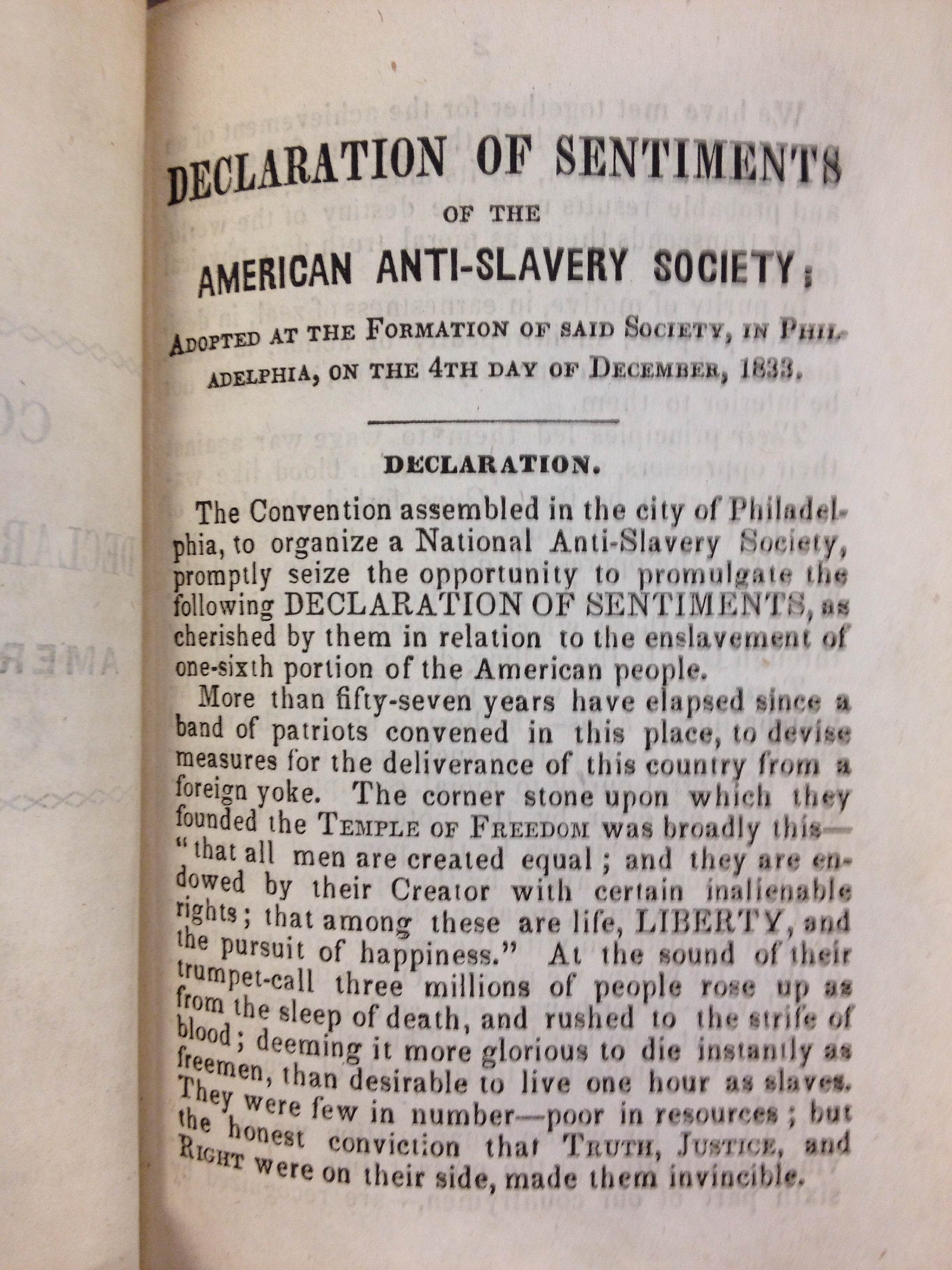 slavery in america anti slavery pamphlets newspapers and slavery in america anti slavery pamphlets newspapers and magazines american collections blog