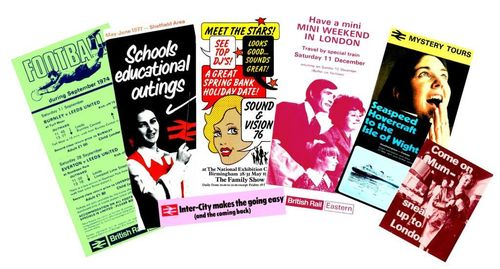British Railways - spread of leaflets