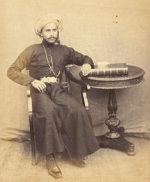 Portrait of Sayyid Majid, Sultan of Zanzibar