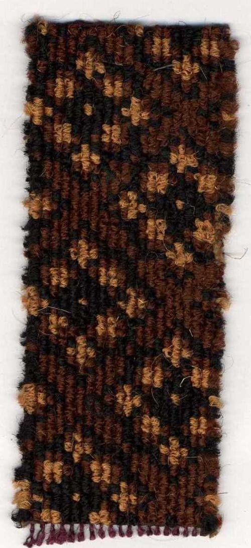 Carpet sample - brown