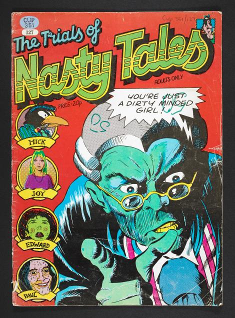 Cover of The Trials of Nasty Tales (1973).
