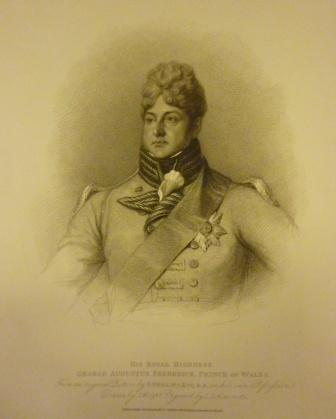 Portrait of George IV when Prince of Wales
