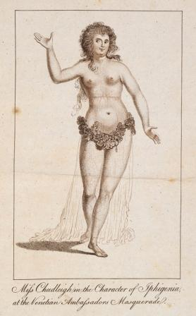 Elizabeth Chudleigh in the character of Iphigenia