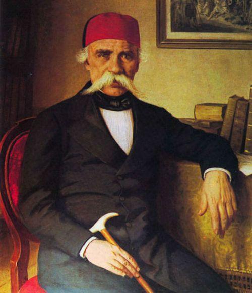 Portrait of Vuk Stefanovic Karadzic