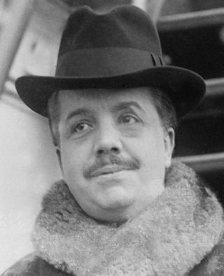 Photograph of Sergei Diaghilev