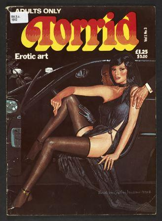 Cover of Torrid Erotic Art, 1979