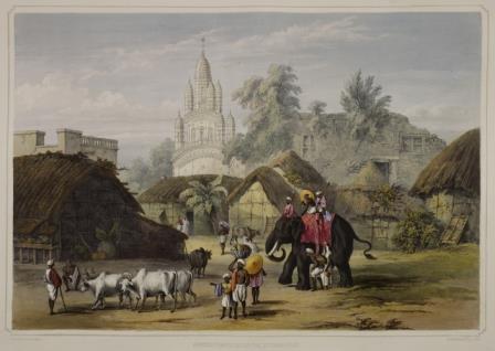 Hindu temple Calcutta