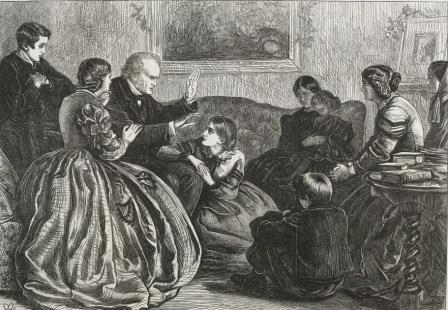Story telling in a Victorian family