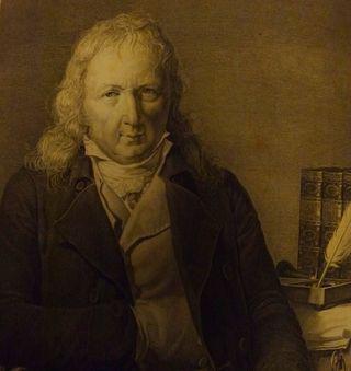 Portrait of Bernhardin de St Pierre