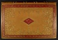 Covers and doublure of a volume of the Ramayana as bound in the British Museum bindery in 1844. British Library, Add.15295.