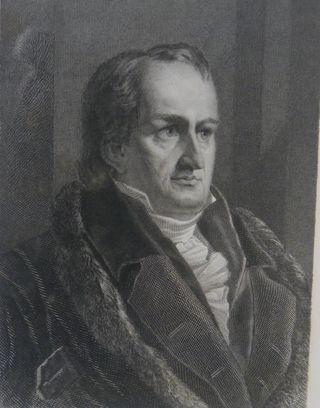 Portrait of Ludwig Tieck