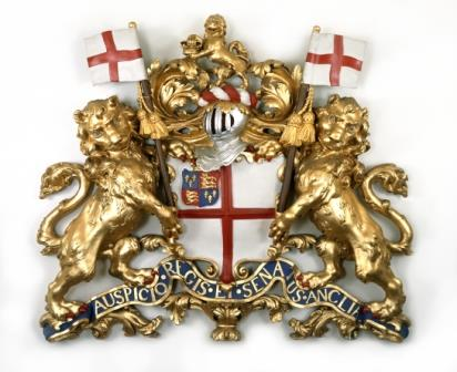 East India Company coat of arms c.1730