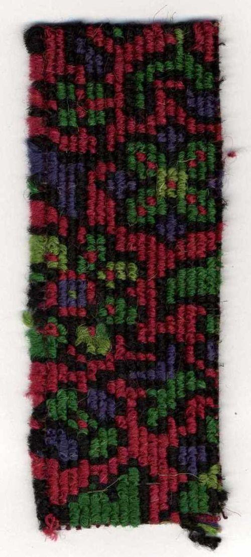 Carpet sample - crimson