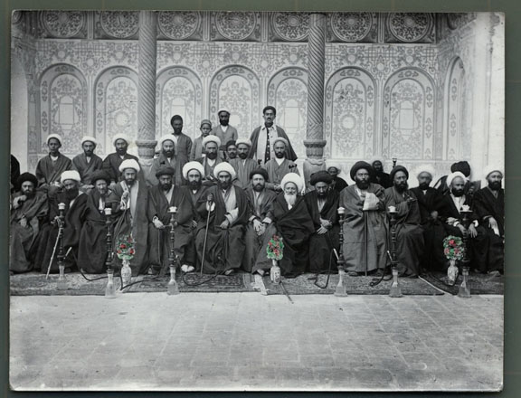 Group photograph of clerics.