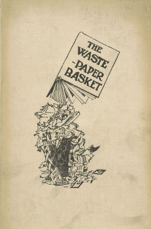 Cover of The Waste-Paper Basket