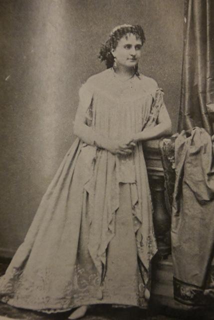 Photograph of Hortense Schneider in the role of Helen
