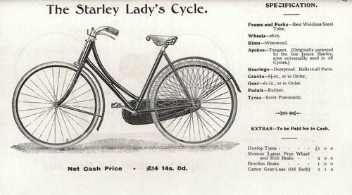 The Starley Lady's Cycle