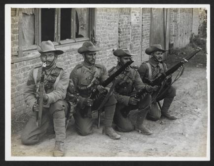 Garhwal riflemen