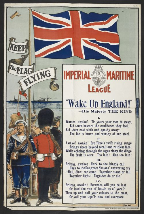 Imperial Maritime League poster
