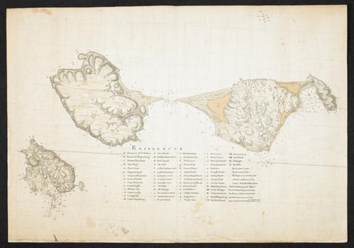 Chart of the Islands of St Pierre and Miquelon