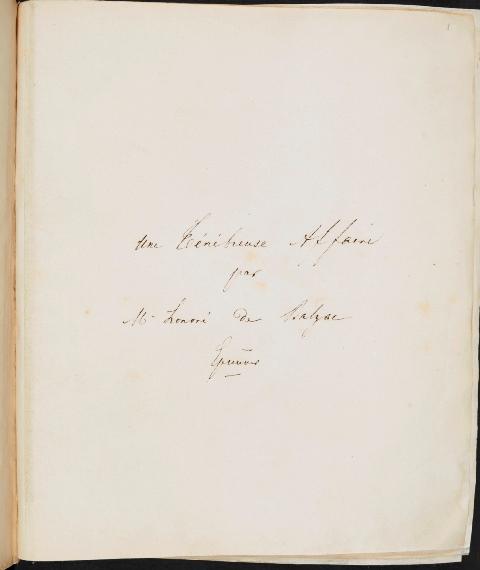 Balzac Folio 1