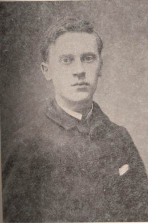 Photograph of Romain Rolland as a young man