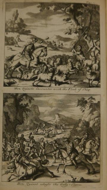 Don Quixote sheep & slaves (Cerv.336)